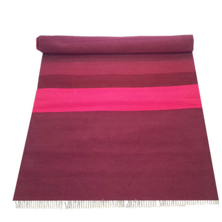 tapis de yoga coton nature