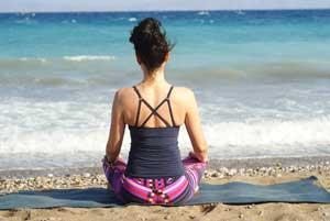 création du tapis de yoga