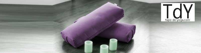 Bolster yoga – Différence entre petit et grand modèle