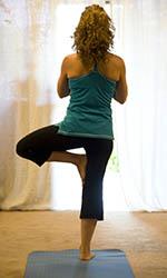 Position yoga facile