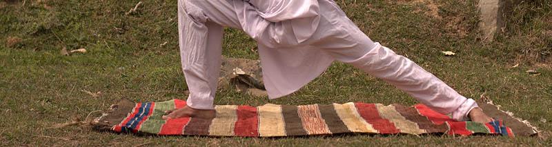 Un tapis de yoga antidérapant en coton, ça existe ?