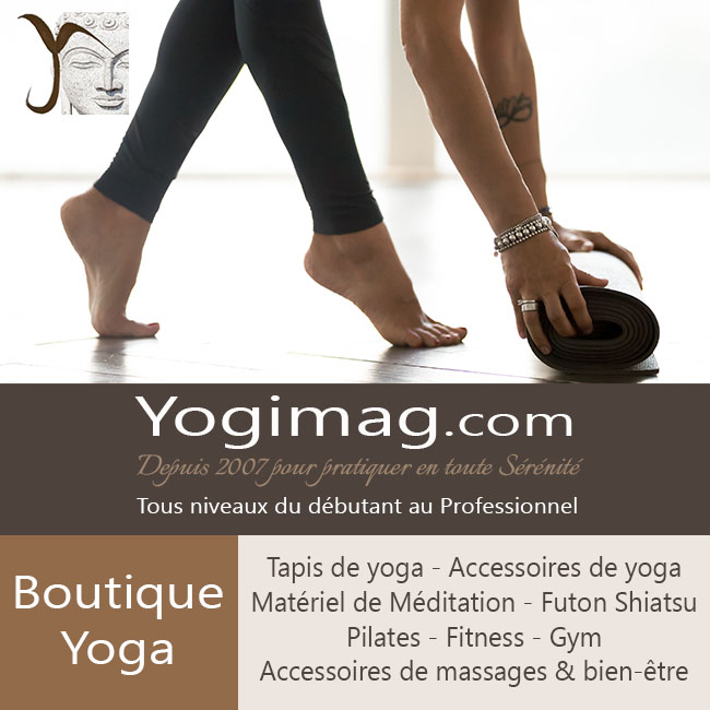 Boutique tapis de yoga et accessoires yoga Yogimag.com