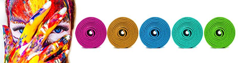 Quelle couleur de tapis de yoga choisir ?