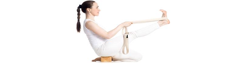 Les accessoires pour le yoga